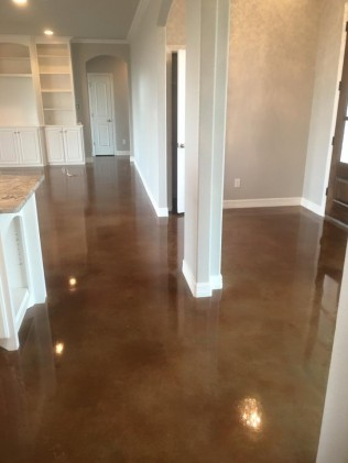 Polished Concrete in New Construction