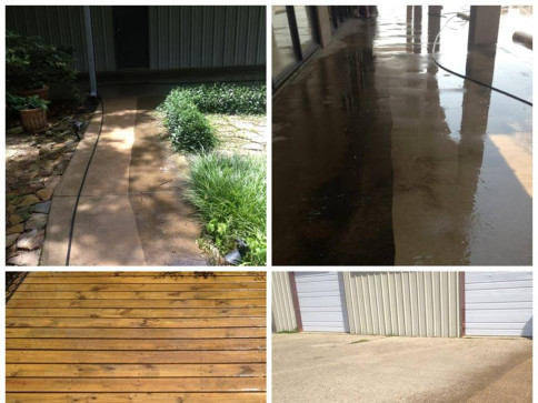 Power Washing Gallery