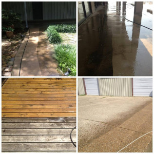 Before & After Power Wash Images
