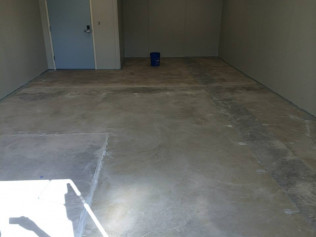 Before - Chemical Lab Floor
