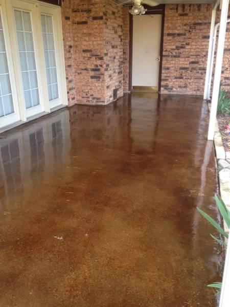Cola Stained Concrete Floors