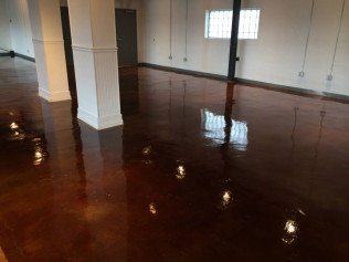 Wedding Venue After - Stained With Kemiko Cola