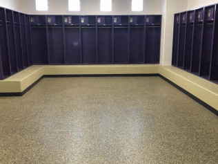 Color-Matched Coating for Local Locker Room