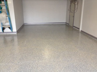 Dove Gray Epoxy Coating