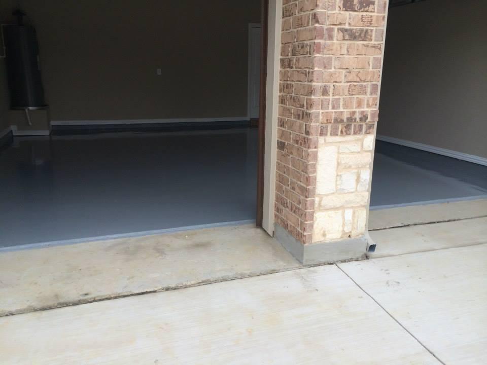 Liquid Granite Garage Floor