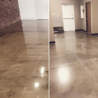 polished industrial concrete ft. worth tx